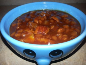 Sweet Smoked Baked Beans
