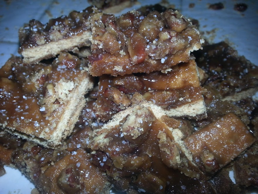 salted caramel pecan bars 13
